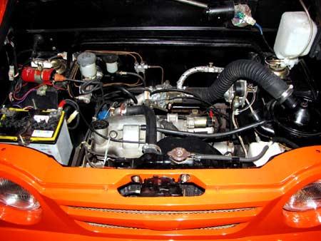 Mesin BBG 600cc