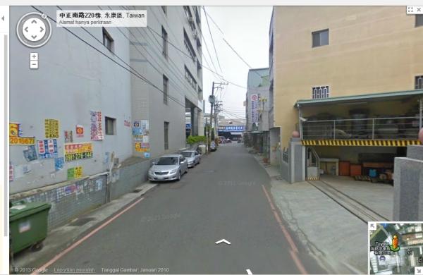 jalan-jalan dengan google map dulu sebelum jalan-jalan secara langsung biar nggak nyasar :)
